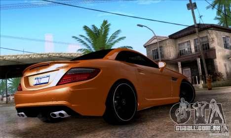 Mercedes Benz SLK55 R172 AMG para GTA San Andreas esquerda vista