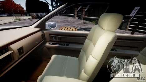 Buick Roadmaster Sedan 1996 v1.0 para GTA 4 vista interior