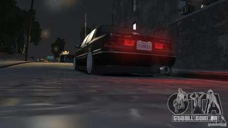 Mitsubishi Galant Stance para GTA 4 vista lateral
