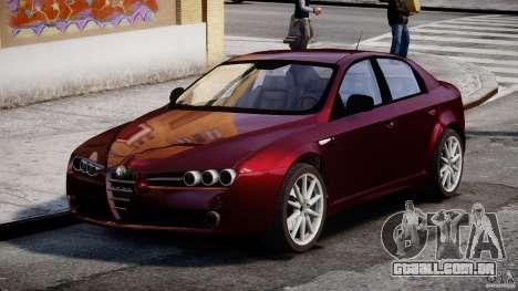 Alfa Romeo 159 Li para GTA 4 vista direita