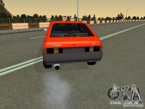 Azlk-2141 45 Sviatogor para GTA San Andreas traseira esquerda vista