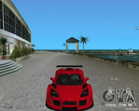 Gumpert Apollo Sport para GTA Vice City vista direita