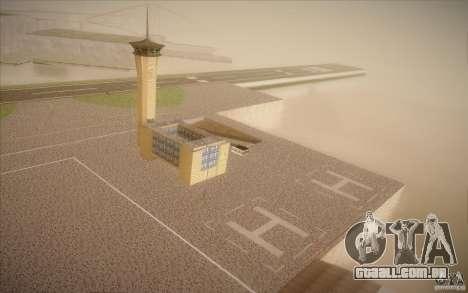 New San Fierro Airport v1.0 para GTA San Andreas