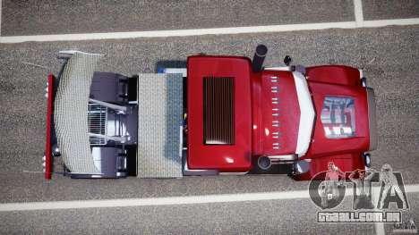 Peterbilt Sport Truck Custom para GTA 4 vista direita