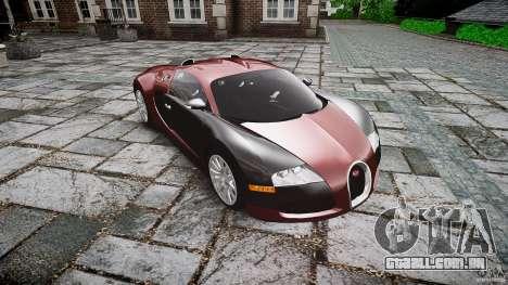 Bugatti Veyron 16.4 v3.0 2005 [EPM] Machiavelli para GTA 4 vista de volta