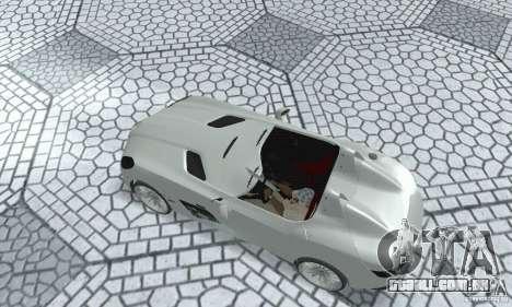 Mercedes-Benz SLR Moss 2008 para GTA San Andreas traseira esquerda vista