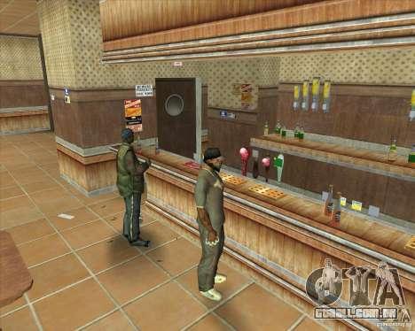 Salierys Bar para GTA San Andreas sétima tela