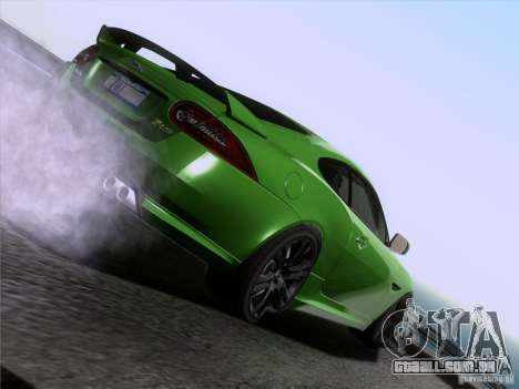 Jaguar XKR-S 2011 V2.0 para o motor de GTA San Andreas