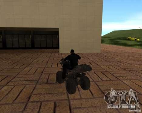 CoD MW 3 quadro para GTA San Andreas traseira esquerda vista