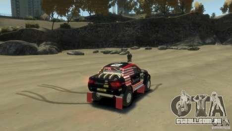 Mitsubishi L200 Rally para GTA 4 traseira esquerda vista