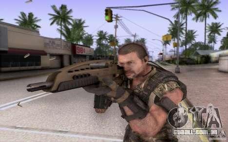 HK XM8 eotech para GTA San Andreas terceira tela