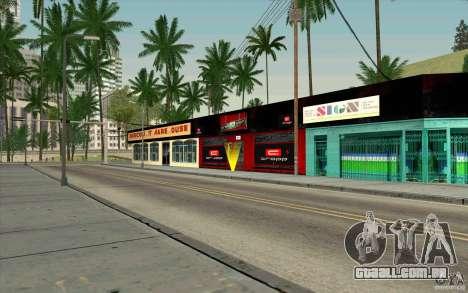 Cropp Town SHOP para GTA San Andreas terceira tela