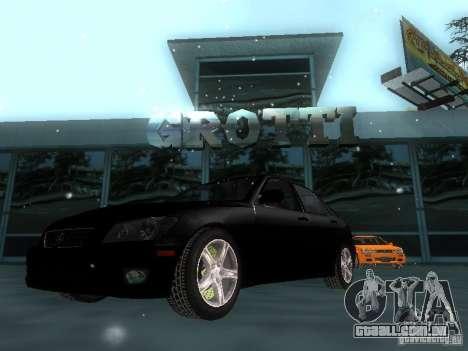 Lexus IS300 para GTA San Andreas interior