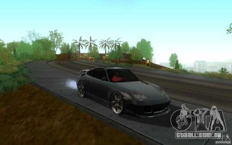 Ruf R-Turbo para GTA San Andreas vista traseira