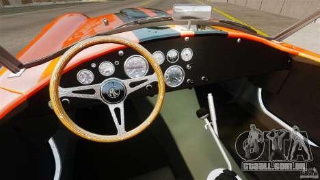 AC Cobra 427 para GTA 4 vista direita