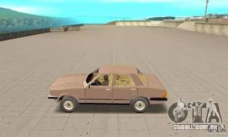Ford Taunus 1978 para GTA San Andreas esquerda vista