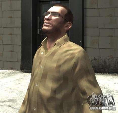 Novos óculos para Niko-brilhante para GTA 4 segundo screenshot