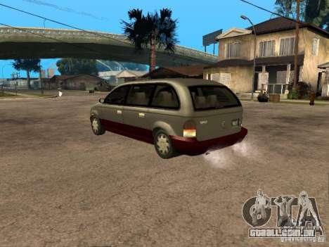 HD Blista para GTA San Andreas esquerda vista