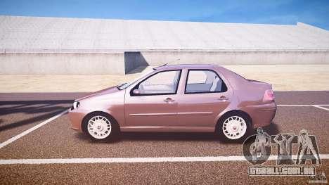 Fiat Albea Sole (Bug Fix) para GTA 4 esquerda vista