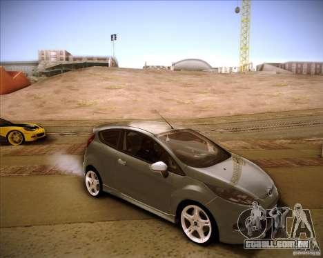 Ford Fiesta Zetec S 2010 para GTA San Andreas