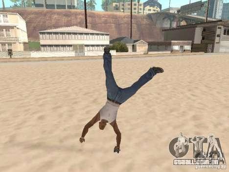Parkour 40 mod para GTA San Andreas por diante tela