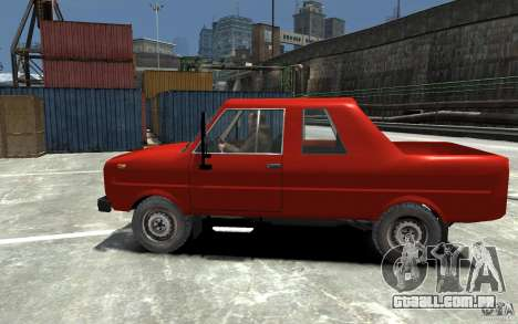 FSR Tarpan 237D para GTA 4 esquerda vista