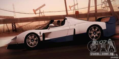 Maserati MC12 V1.0 para o motor de GTA San Andreas