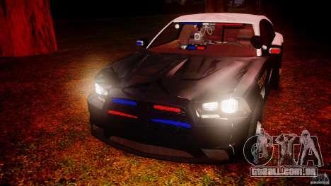 Dodge Charger 2012 Florida Highway Patrol [ELS] para GTA 4 vista superior