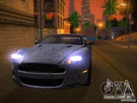 Aston Martin DBS para GTA San Andreas vista superior
