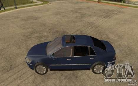 Volkswagen Phaeton 2005 para GTA San Andreas esquerda vista