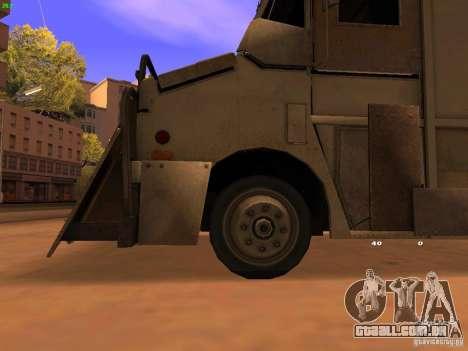 Monster Van para GTA San Andreas vista direita