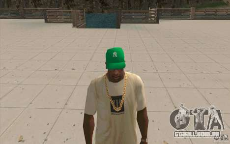 Newyorkyankiys tampa verde para GTA San Andreas segunda tela