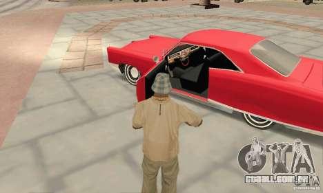 Pontiac Bonneville 1966 para GTA San Andreas vista traseira