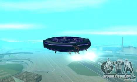 Chuckup para GTA San Andreas vista interior