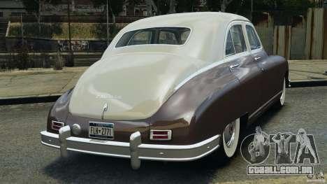 Packard Eight 1948 para GTA 4 vista direita