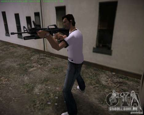 M-16 de Scarface para GTA Vice City segunda tela