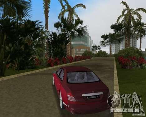 Maybach 57 para GTA Vice City vista direita