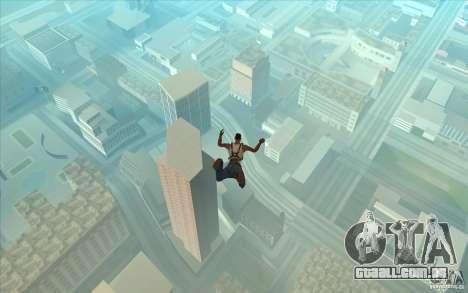 Pára-quedas para GTA San Andreas por diante tela