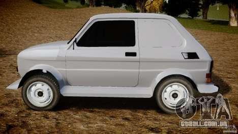 Fiat 126p Bis Rally para GTA 4 esquerda vista