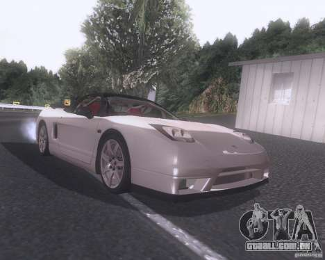 Honda NSX Japan Drift para GTA San Andreas