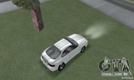 Toyota Celica GT4 2000 para GTA San Andreas traseira esquerda vista