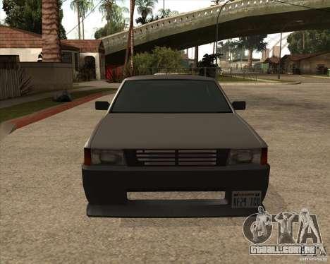 Blistac melhorada para GTA San Andreas esquerda vista