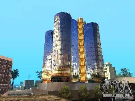 Nova textura de arranha-céu para GTA San Andreas por diante tela