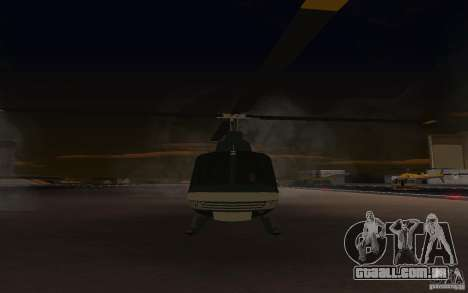 GTA IV Maverick para GTA San Andreas esquerda vista