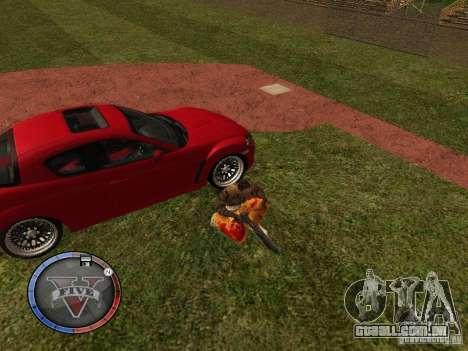 GTA 5 HUD para GTA San Andreas oitavo tela