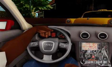 Audi A3 Sportback 3.2 Quattro para GTA San Andreas vista direita