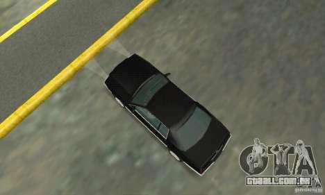 Cadillac Eldorado 1996 para GTA San Andreas traseira esquerda vista
