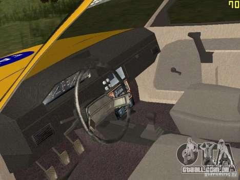 2141 AZLK GAI para GTA San Andreas vista traseira