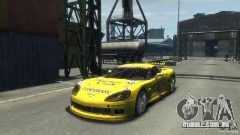 Chevrolet Corvette C6-R para GTA 4