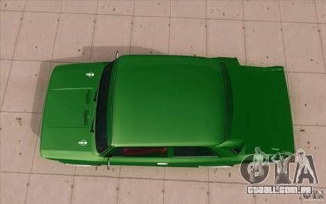 Esporte de Lada VAZ-2101 para GTA San Andreas vista direita